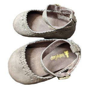 Gap Baby Girl Tan Mary Jane Flat Shoes Size 3-6 M